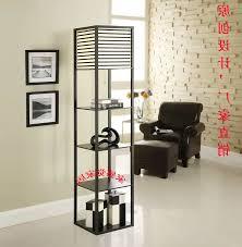 round floor lamp shelving design giving superb look floor lamps
