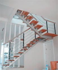 prefab metal stairs residential home design styles