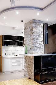 interior livingroom and kitchen u2014 stock photo darknula 1700210
