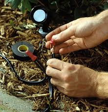 how to install outdoor landscape lighting