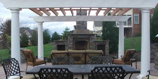 Pergola Kitchen Outdoor by Beauteous Brown Color Wooden Outdoor Kitchen Pergola Featuring
