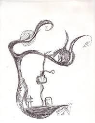 tim burton style tree by radios creepypastas on deviantart
