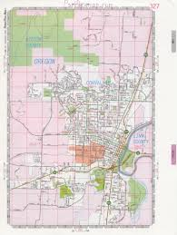 Highway Map Of Oregon by Corvallis Road Map