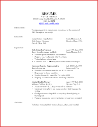 customer service resume sle inspirational food service resume resume pdf
