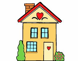 casa disegno disegno casa con cuori colorato da utente non registrato il 18 di