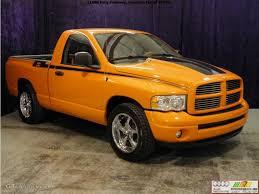 Dodge Ram Custom - 2004 custom orange dodge ram 1500 hemi gtx regular cab 55019136