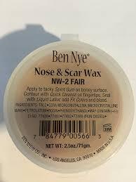 spirit halloween liquid latex amazon com ben nye fair scar and nose wax other products beauty