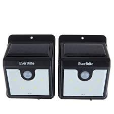 Motion Activated Outdoor Light Everbrite Motion Activated Led Outdoor Lights 2 Pack 1840137 Hsn