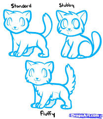 how to draw anime cats anime cats step by step anime animals