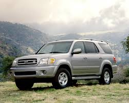 suv toyota 2001 toyota sequoia limited fuel infection