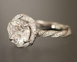 twisted band engagement ring twisted band engagement rings durham