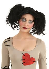 doll halloween costumes doll wig