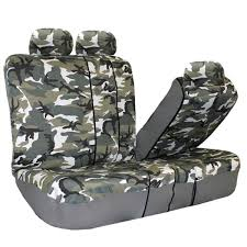 classic camouflage seat covers full set fh group