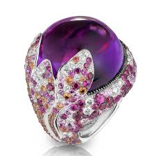 amethyst rings images De grisogono melody of colours amethyst ring de grisogono the jpg