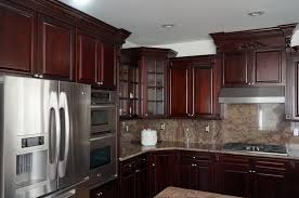 kitchen cabinet cherry dark cherry ready to assemble rta kitchen cabinets best online