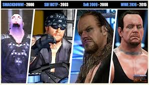wwe games history of wwe games the undertaker the evolution of the