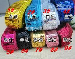 sequin ribbon 2017 40yards 22mm mix colors sequin ribbon spangle lace sewing