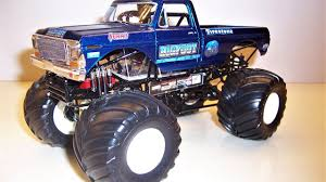 bigfoot monster truck videos youtube monster jam custom monster truck bigfoot old 1 25 scale