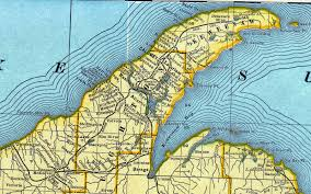Map Of Upper Peninsula Copper Country Maps U2026for All Those Folks Who Follow Copper