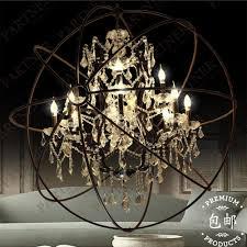 popular crystal ball chandelier buy cheap 4 bulbs modern luxury