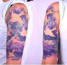 most original cloud tattoos