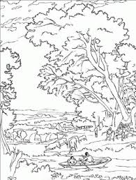 131 dessins de coloriage Nature à imprimer