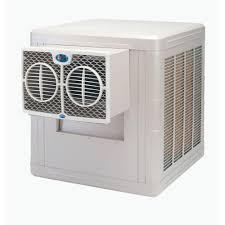 800 sq ft brisa 3500 cfm 2 speed front discharge window evaporative cooler