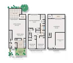 three bedroom townhouse floor plans floor plans lakeview apartments for rent in blackwood nj
