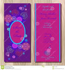 Design Card Wedding Invitation Winter Snowflakes Design Wedding Invitation Card Wedding Vector