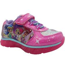 light up sneakers nickelodeon shimmer and shine girls light up shoes sneakers