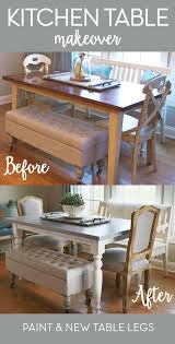 How To Build A Dining Room Table Plans by Best 25 Dining Table Makeover Ideas On Pinterest Dining Table