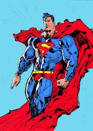 superman colored liamsharp deviantart