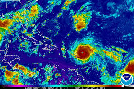 caribbean weather map the state s history of hurricanes