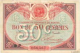 chambre de commerce de nantes 50 centimes régionalisme et divers nantes 1918 jp 088 24