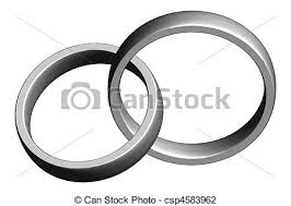 intertwined wedding rings silver wedding bands intertwined clipping path included clip