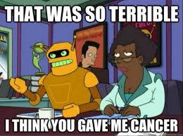 Bender Futurama Meme - calculon to bender futurama 5 15 bender should not be allowed on