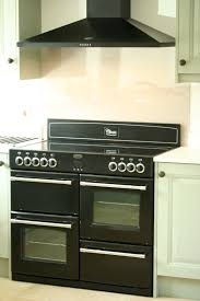 Black Belling range cooker & Chimney hood