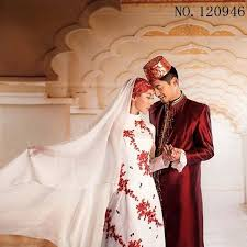 Wedding Evening Dresses Aliexpress Com Buy Islamic Women Dress White Red Blue Men Abaya
