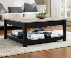 Distressed Oak Coffee Table Carver Coffee Table Black Distressed Gray Oak Sellers