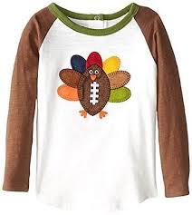 mud pie thanksgiving thanksgiving mud pie boys football turkey t shirt brown