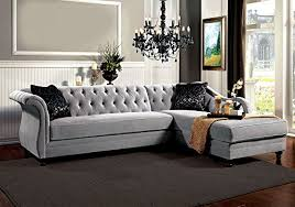 Fabric Sectional Sofas With Chaise Product Reviews Buy 1perfectchoice Potterdam Luxurious Sectional