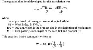 Bond Energies Table Bond Impact Crushing Work Index Procedure And Table Of Crushability