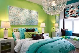 bedroom wonderful green wall paint teenage bedroom with