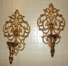 Gold Wall Sconces Gold Modern Candle Wall Sconces Modern Candle Wall Sconces To Gold