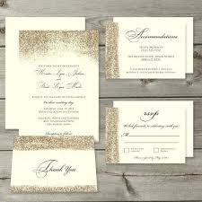 wedding invitations sets glitter wedding invitation sets gold glitter wedding invitation