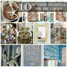 Diy Bathroom Decorating Ideas by 10 Summer Seashell Decor Ideas