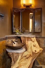 rustic bathroom sink beautiful home design ideas enhomedesign