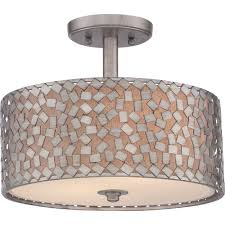 Quoizel Flush Mount Ceiling Light Quoizel Ckcf1714os Confetti Silver Ceiling Light Kitchen