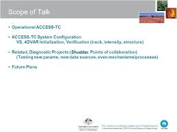 configuration bureau the centre for australian weather and climate research a