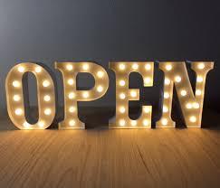 shop open sign lights tab11 rakuten global market light bulb cafes aim open american 23